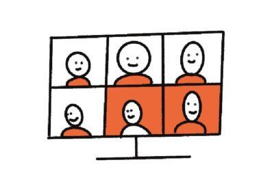 7 tips om minder moe uit je online bijeenkomsten te komen
